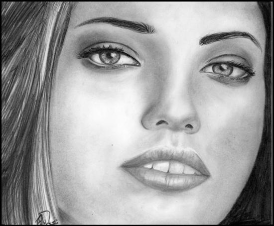 Adriana Lima par Marije